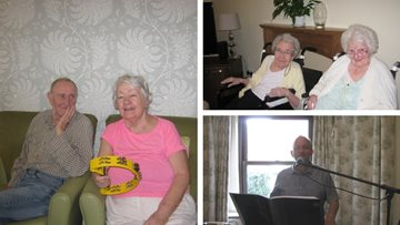 Hinckley care home is alive with the sound of music