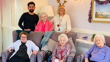 Festive celebrations at Barnard Castle care home