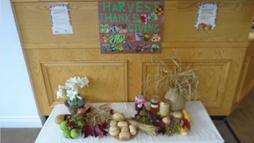 Penrith care home celebrates harvest festival