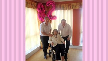 Resident's birthday wish comes true