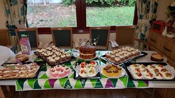 Silverwood Nottingham celebrates and joins in with Macmillan Coffee morning 2017