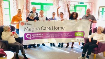 Wigston care home receives glowing report from Care Quality Commission