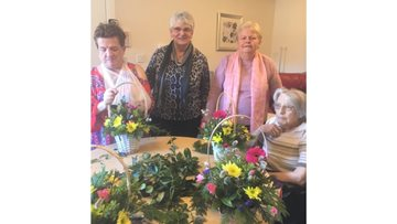 Friendly volunteers at Forfar Care Home receive funding