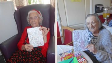 Wigston care home Residents write back to Pen Pals