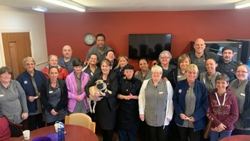 Dedicated workforce celebrated at Glasgow care home