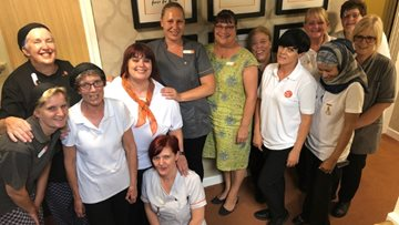 Kindness is rewarded at Mansfield care home