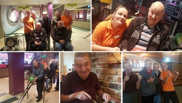 Peterlee care homes enjoy friendly bowling competition