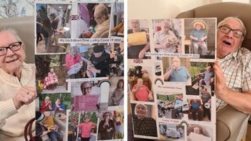 Coventry care home share photos of lockdown activities