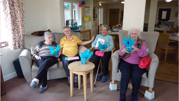 Stoneyford Residents celebrate Mother's Day
