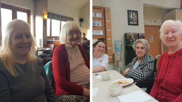 Ladies that lunch at Manchester care home