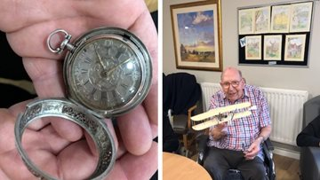 Antique roadshow at Northfleet care home
