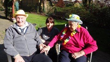 Spring has sprung at Stoneyford care home