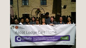Sheffield care home celebrates success in CQC report