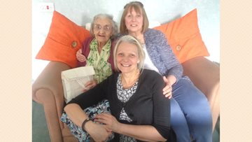 Roseberry Court celebrate Mother's Day surrounded by family and friends