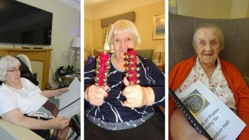 Grimsby care home enjoy afternoon of Songs of Praise