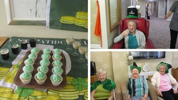 Guisborough care home celebrates St Patrick's Day