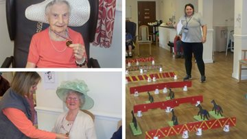 A day at the races for Residents at Oldbury care home