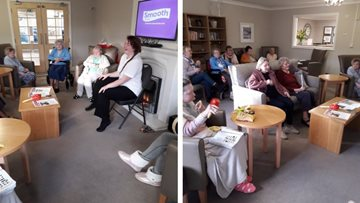 Musical moments at Hartlepool care home