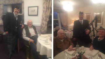 Burns Night celebrations at Beaconsfield Court