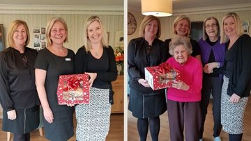 Glenrothes care home Residents delighted with sweet donation from Bayne's Bakery
