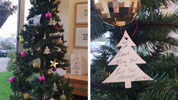 Preston care home creates memorial Christmas tree