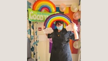 Coventry care home celebrate Pride in colourful style