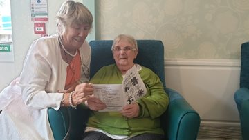 Caerphilly care home Residents celebrates becoming published poet