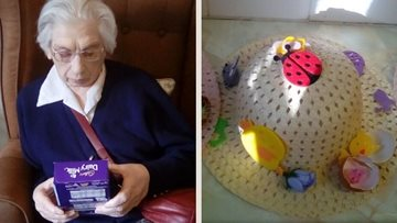 Duffield care home Residents enjoy Easter holidays