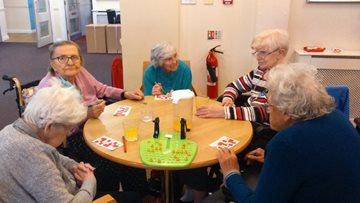 Brooklands care home hosts bingo competition for Residents