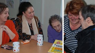 Community initiative is a success at Merthyr Tydfil care home