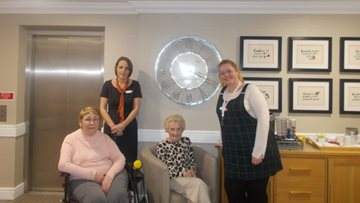 New recruitment initiative includes Residents at Durham care home