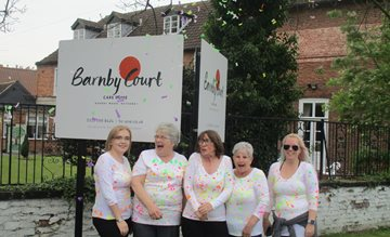 Retford care home promotes mental health awareness as staff complete fundraising walk