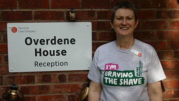 Winsford Care Home Manager 'Braves the shave'