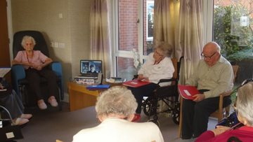 Technology keeps Redcar care home Residents connected to their faith