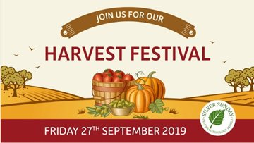 Celebrate Silver Sunday and Harvest Festival