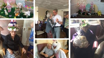 Egg-citing Easter celebrations at Port Talbot care home