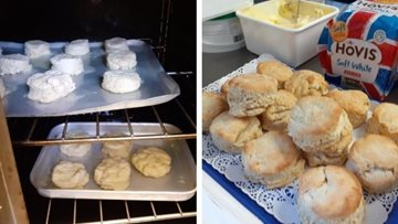 Residents at Coventry care home enjoy tasty homemade biscuits