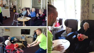 Residents enjoy keeping active at Stoneleigh