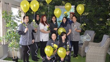 International Women's Day at Hayes care home