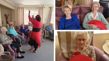 Bollywood fever hits Swallownest care home as Residents enjoy afternoon of dance