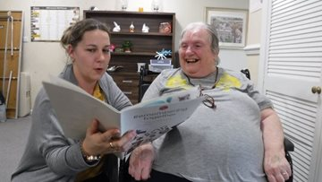 Residents enjoy reminiscent afternoon at Lincoln care home
