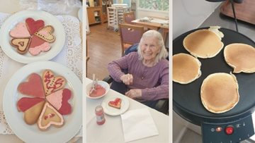 Wiltshire Residents treat themselves for Valentine's Day and Shrove Tuesday