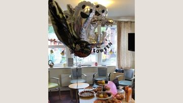 Spooky Halloween party at Manchester care home
