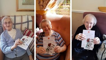 Tameside Residents send cards to their loved ones