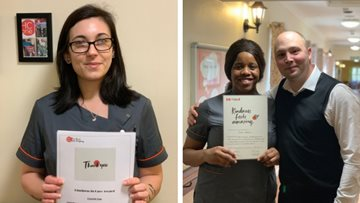 Kindness is rewarded for caring Colleagues at Coventry care home
