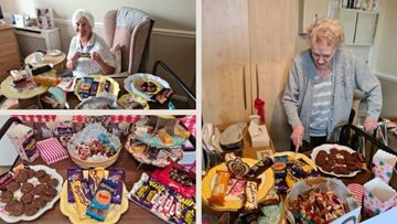 Sheffield care home celebrate World Chocolate Day with a feast of treats