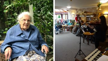 Classical music mornings at Cambridge care home