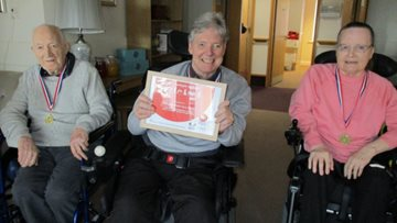 Twilight games are a success at Hinckley care home