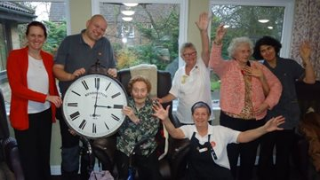 Stop the Clock success at Sutton-in-Ashfield care home