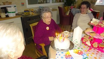 Celebrations underway at Scunthorpe care home as Resident turns 90 years young